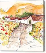 El Alcornocal 01 Canvas Print