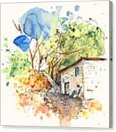 El Alcornocal 02 Canvas Print