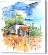 El Alcornocal 04 Canvas Print