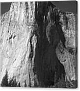 El Cap Face On Canvas Print