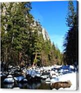 El Capitan's Creek Canvas Print