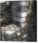 El Cuauhcalli Stonework Canvas Print