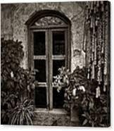 El Sitio Window Canvas Print