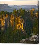 Elbe Sandstone Highlands Canvas Print