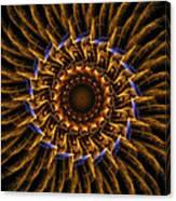 Electric Mandala 3 Canvas Print