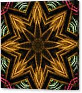 Electric Mandala 7 Canvas Print