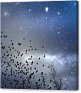 The Night Was Electrically Charged Canvas Print