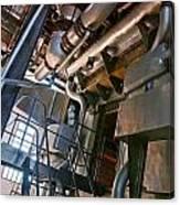 Electric Plant Canvas Print