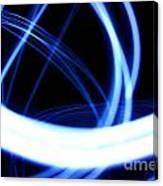 Electric Swirl Canvas Print