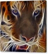 Electric Tiger Canvas Print