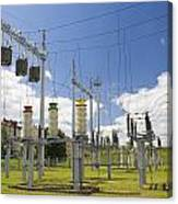 Electricity For A City Canvas Print