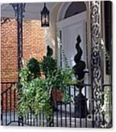 Elegant Entrance Canvas Print
