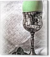 Elegant Green Easter  Canvas Print