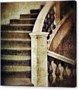 Elegant Staircase Canvas Print