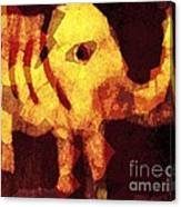 Elephant I Am Canvas Print