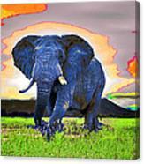 Elephantidae Diurnal Canvas Print