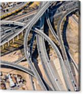 Elevated Road Canvas Print