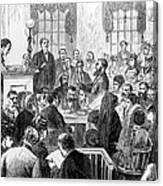 Elizabeth Wharton Trial Canvas Print