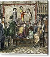 Elizabethan Theatre Canvas Print