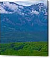 Elk Mountains Panorama Canvas Print