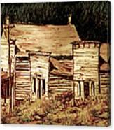 Elkhorn Montana Canvas Print