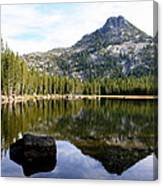 Elkhorn Mountain Reflection Canvas Print