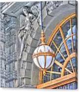 Ellicott Square Building Canvas Print