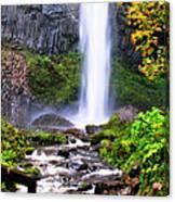 Elowah Falls 2 Canvas Print