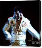 Elvis Is Alive Canvas Print