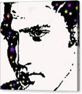 Elvis Living With The Stars Canvas Print