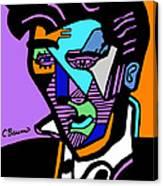 Elvis Presley Abstract Canvas Print