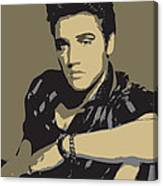 Elvis Presley - Pop Art Portrait Canvas Print