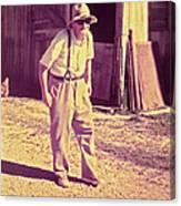Elwood - Farmer Canvas Print