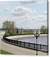 Embankment Canvas Print