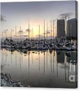 Embarcadero Marina   Canvas Print