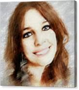 Emelia Canvas Print