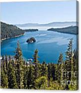 Emerald Bay Morning Canvas Print