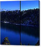 Emerald Bay Panorama Lake Tahoe Canvas Print
