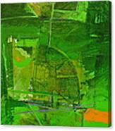 Emerald Green Tobor Canvas Print