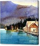 Emerald Lake Lodge B.c Canvas Print