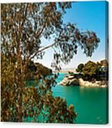 Emerald Lake With Duke House I. El Chorro. Spain Canvas Print
