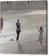 Emerged From The Sea Canvas Print