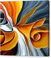 Emerging Flower Canvas Print