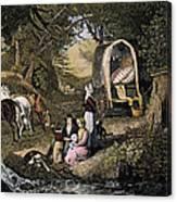 Emigrants: Appalachians Canvas Print