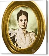 Emily Warren Roebling Canvas Print