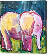 Emily's Elephant 1 Canvas Print
