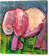 Emily's Elephant 3 Canvas Print