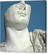Emperor's Bust Canvas Print