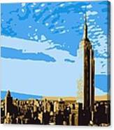 Empire State Building Color 6 Canvas Print