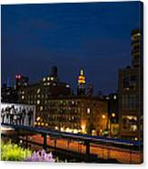 Empire State From High Line Canvas Print